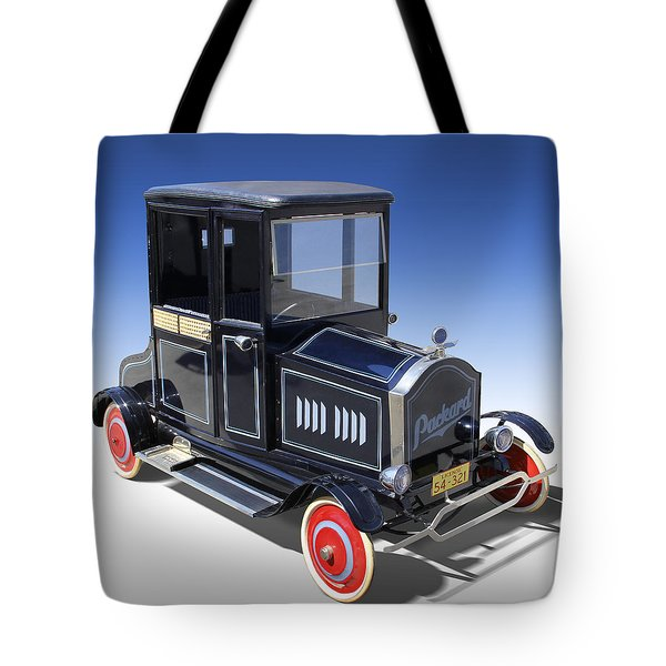 Packard Peddle Car Tote Bag by Mike McGlothlen