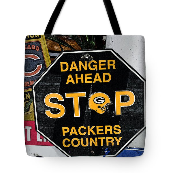 Packers Country Tote Bag by Kay Novy