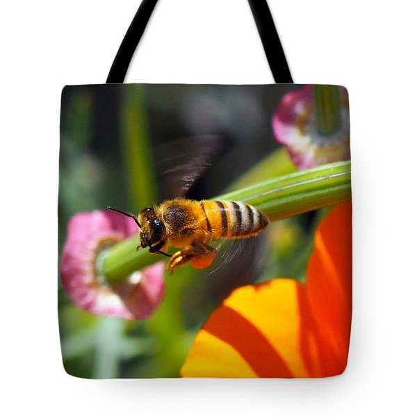 Packin Poppy Pollen Tote Bag