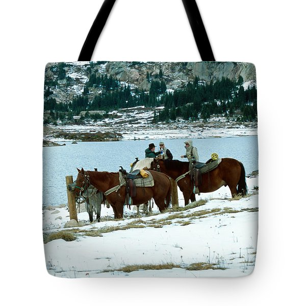 Packing Up Tote Bag by Eric Glaser