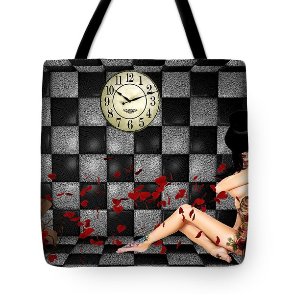 Padded Room Visions Tote Bag by Kristie  Bonnewell