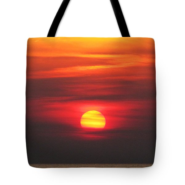 Paddling Under The Sun Tote Bag by Richard Reeve