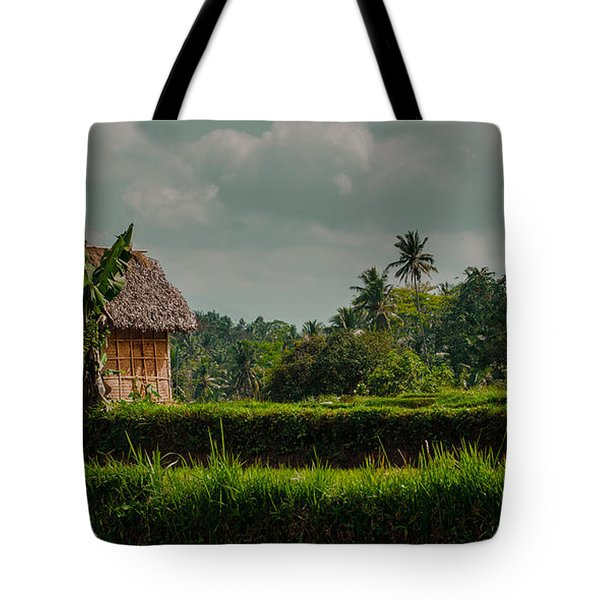 Paddy Fields Tote Bag