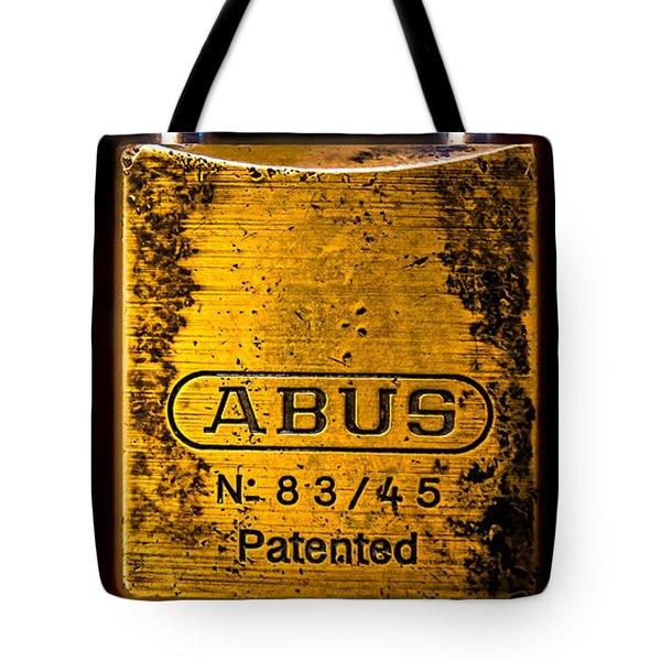 Padlock Tote Bag by Bob Orsillo