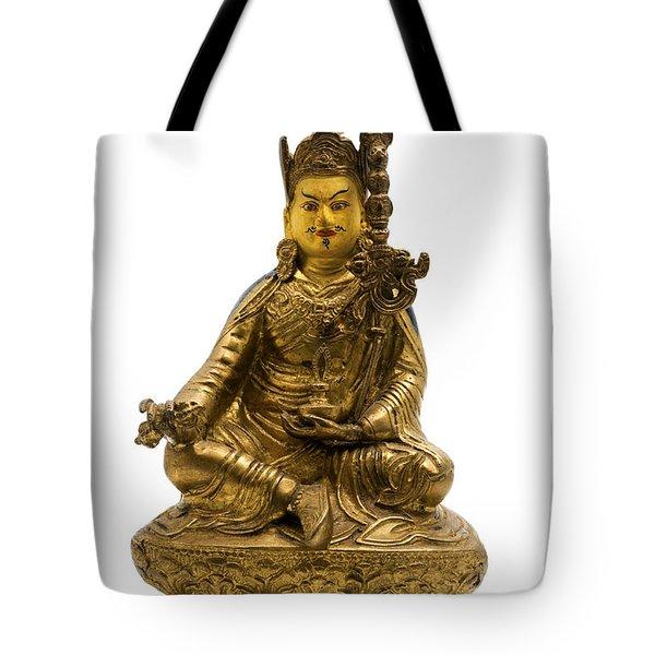 Tote Bag featuring the photograph Padmasambhava by Fabrizio Troiani