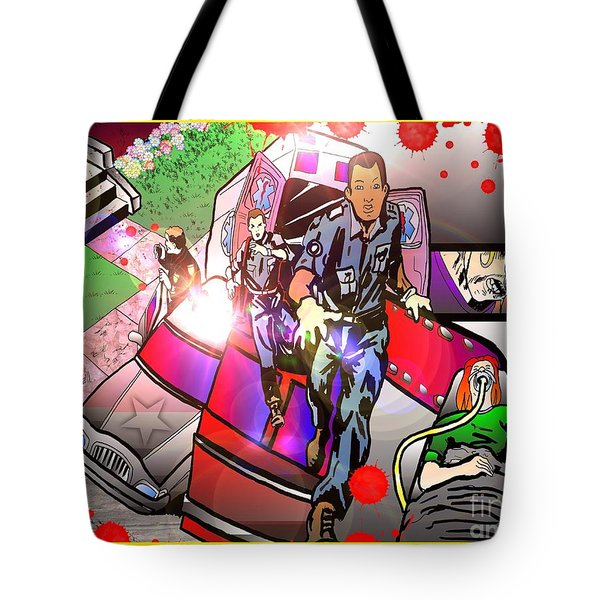 Page 8 And 9 Tote Bag by Justin Moore