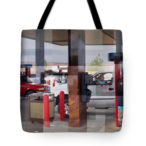 Page Gas Tote Bag