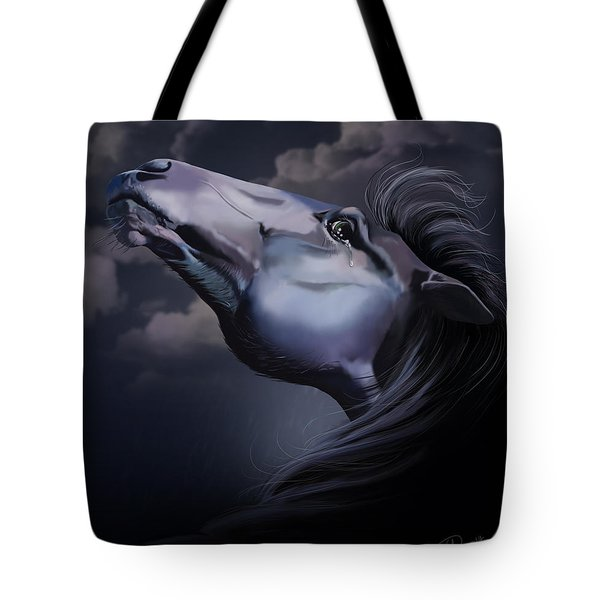 Pain Inside Me Tote Bag