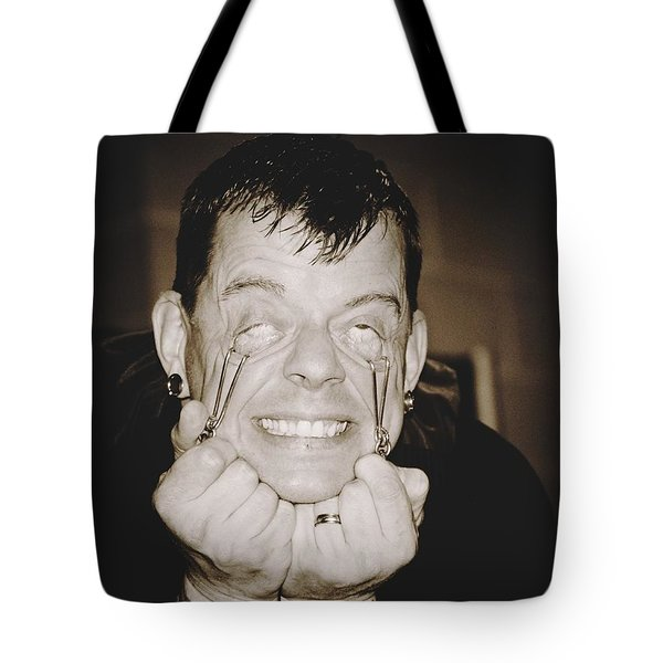 Tote Bag featuring the photograph Painful by Alice Gipson