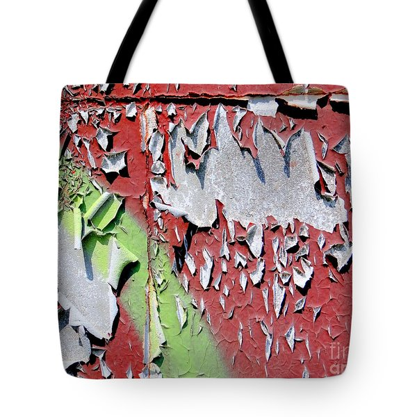 Paint Abstract Tote Bag by Ed Weidman