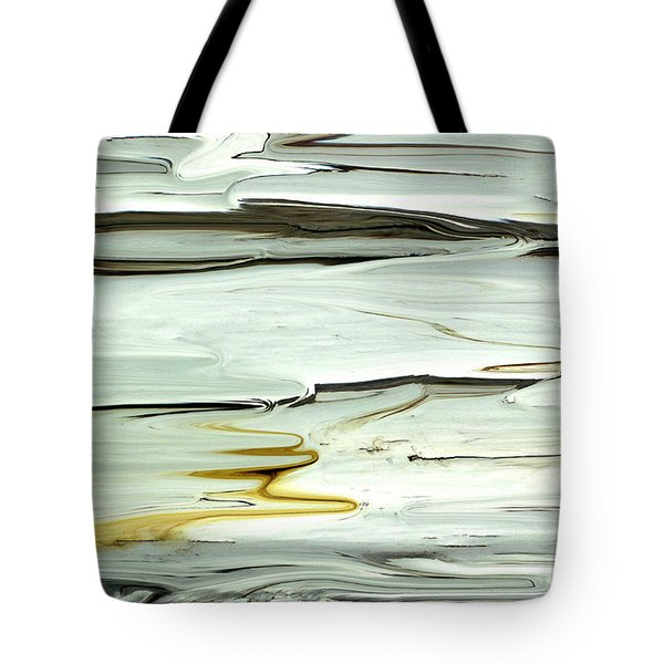 Tote Bag featuring the photograph Paint Abstraction 3 by Mary Bedy