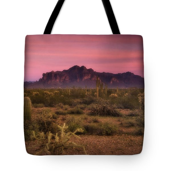 Paint It Pink Sunset  Tote Bag by Saija  Lehtonen