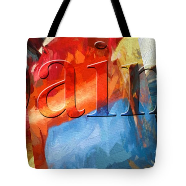 Tote Bag featuring the digital art Paint by Margie Chapman
