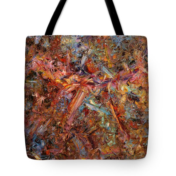 Paint Number 43 Tote Bag by James W Johnson