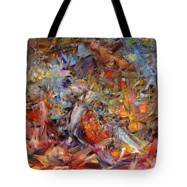 Paint Number 43a Tote Bag