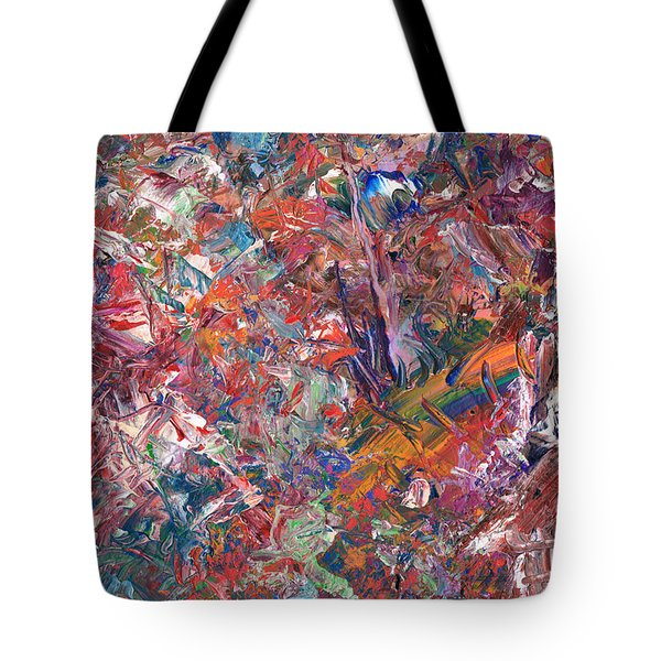 Paint Number 50 Tote Bag by James W Johnson