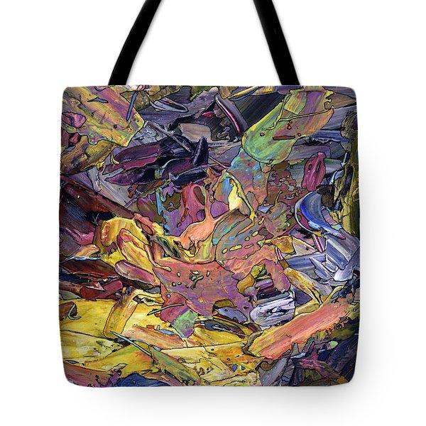 Paint Number 60 Tote Bag