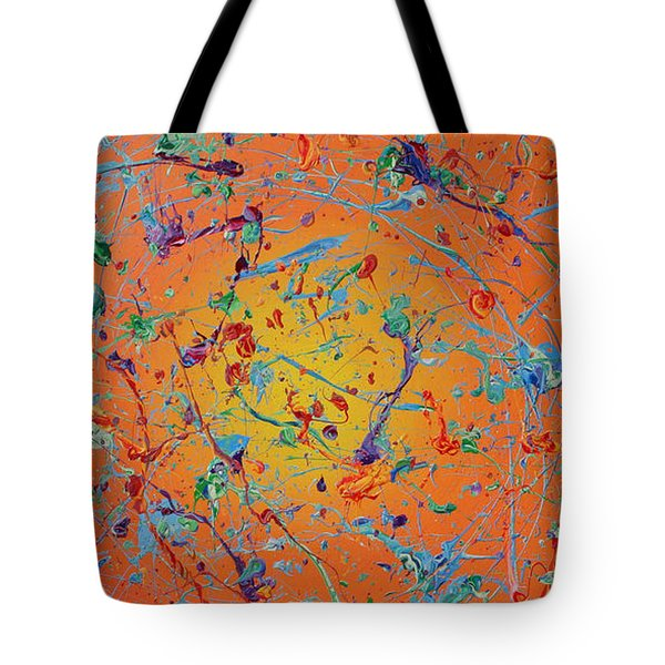 Paint Number Thirty Seven Tote Bag