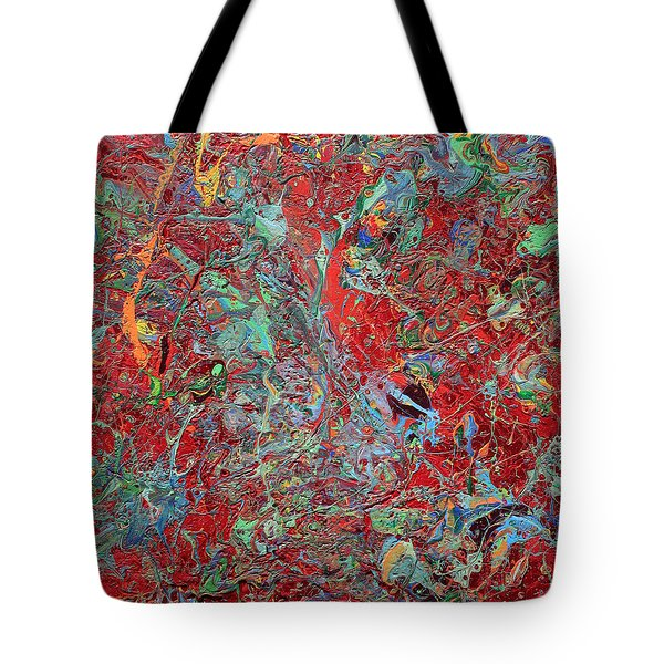 Paint Number Twenty Five Tote Bag