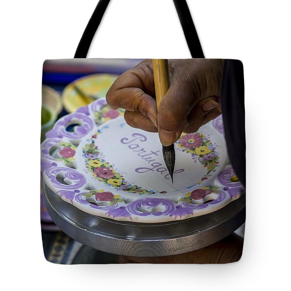Paint On Plates Tote Bag