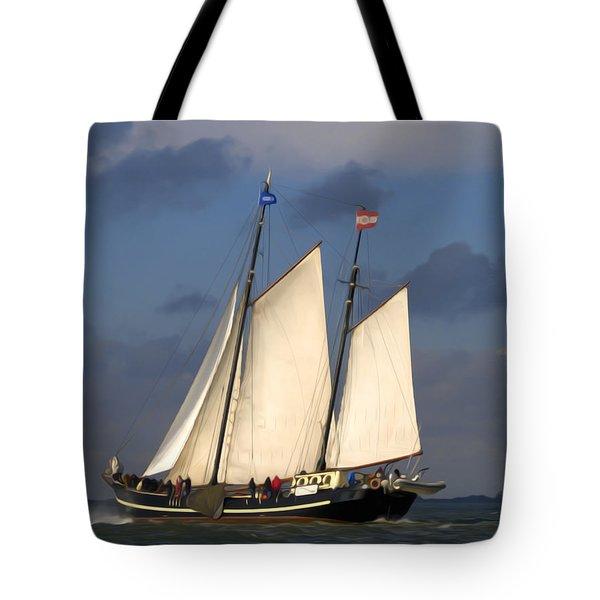Paint Sail Tote Bag