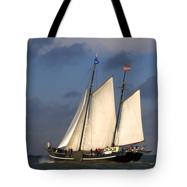 Paint Sail Tote Bag