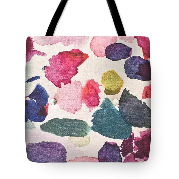 Paint Stains Tote Bag by Tom Gowanlock