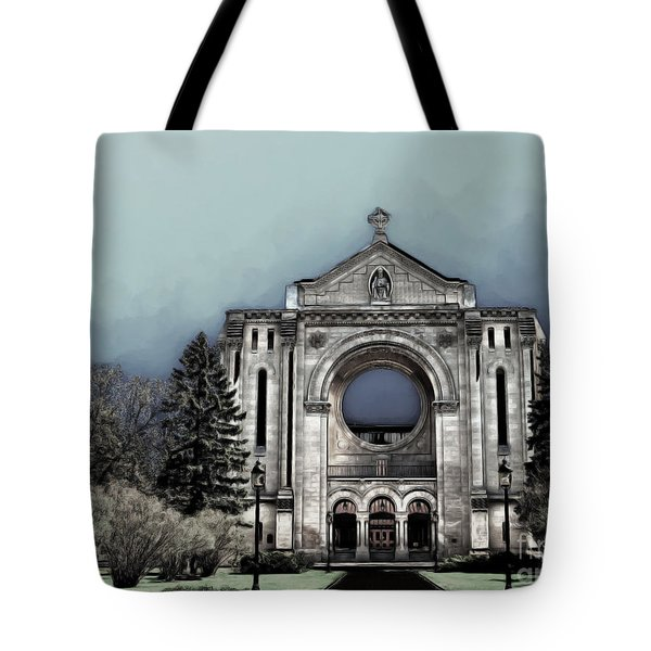 Painted Basilica 2 Tote Bag by Teresa Zieba