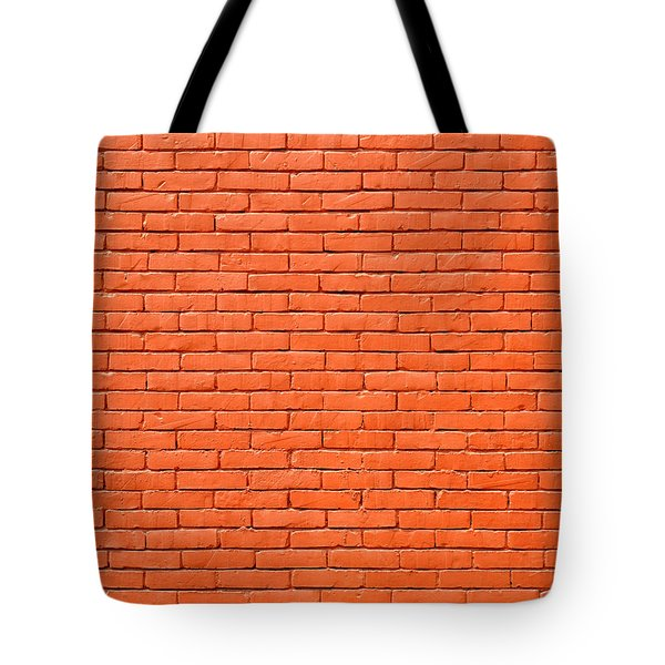 Painted Brick Wall Tote Bag