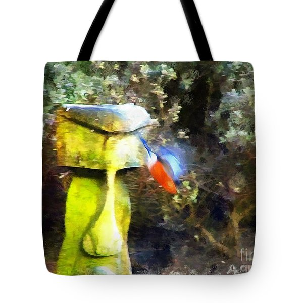 Painted Bullfinch S3 Tote Bag