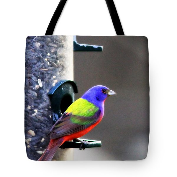 Painted Bunting - Img 9757-002 Tote Bag by Travis Truelove