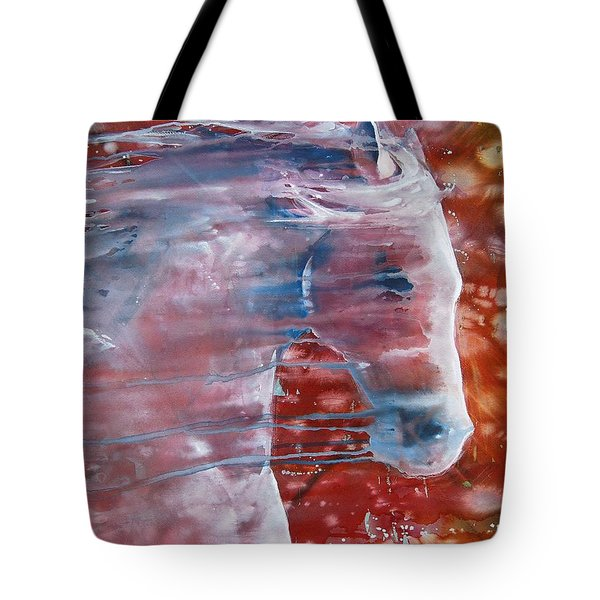 Painted By The Wind Tote Bag