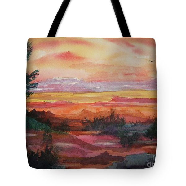 Painted Desert II Tote Bag