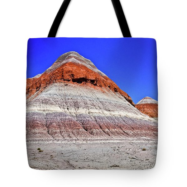 Tote Bag featuring the photograph Painted Desert National Park by Bob and Nadine Johnston