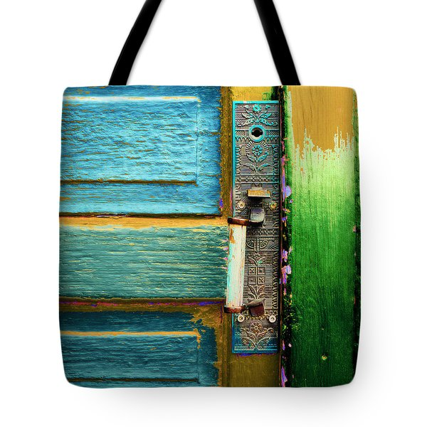 Painted Doors Tote Bag
