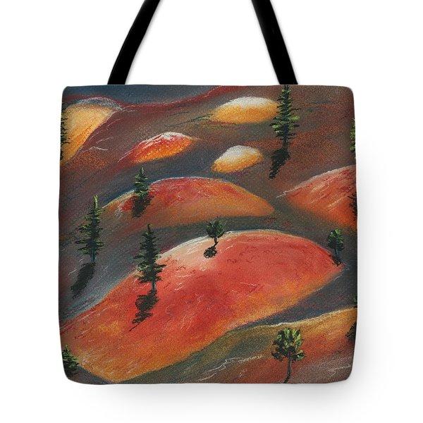 Painted Dunes Tote Bag by Anastasiya Malakhova