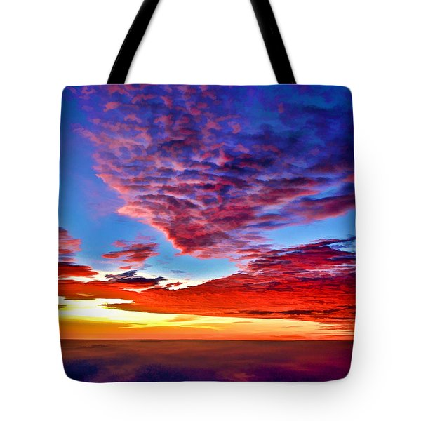 Painted Heavens Tote Bag