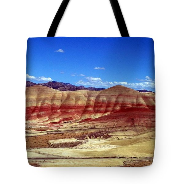 Painted Hills Tote Bag by Chalet Roome-Rigdon