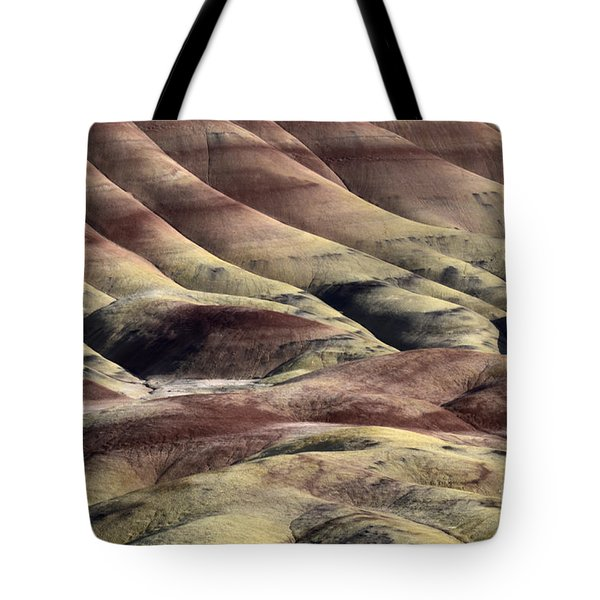Painted Hills Oregon 11 Tote Bag by Bob Christopher