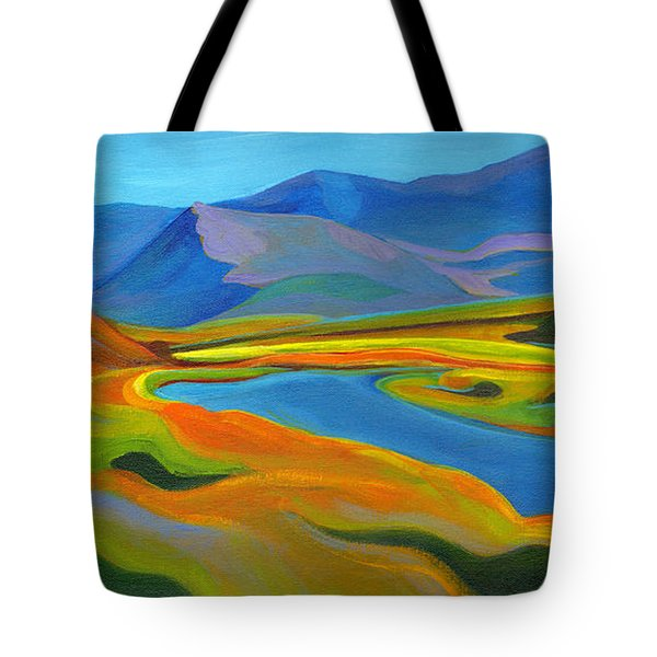 Painted Hills Tote Bag
