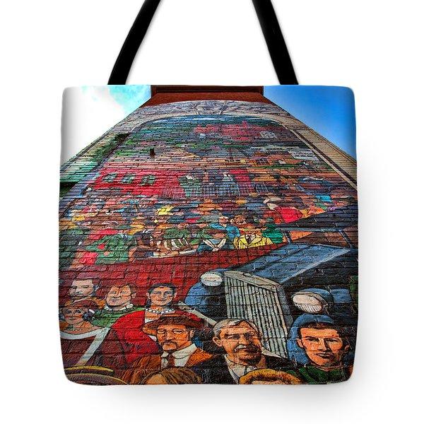 Painted History 3 Tote Bag by Joann Vitali