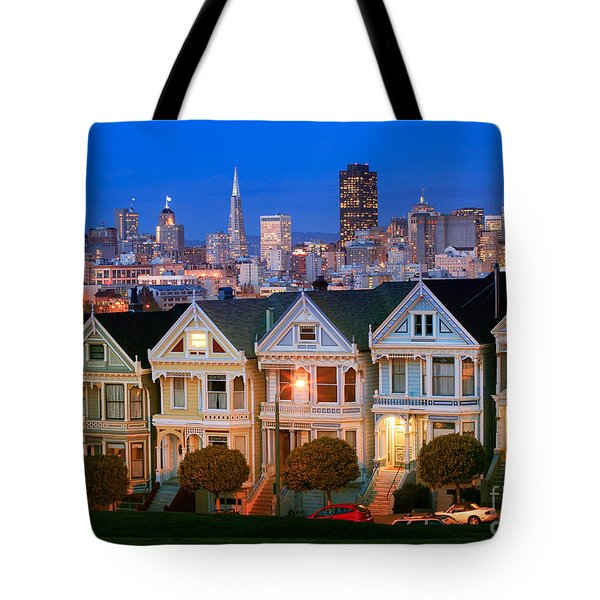 Painted Ladies Tote Bag by Inge Johnsson