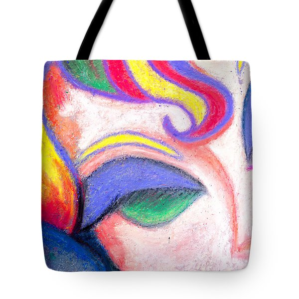 Painted Lady Graffiti Street Art Tote Bag