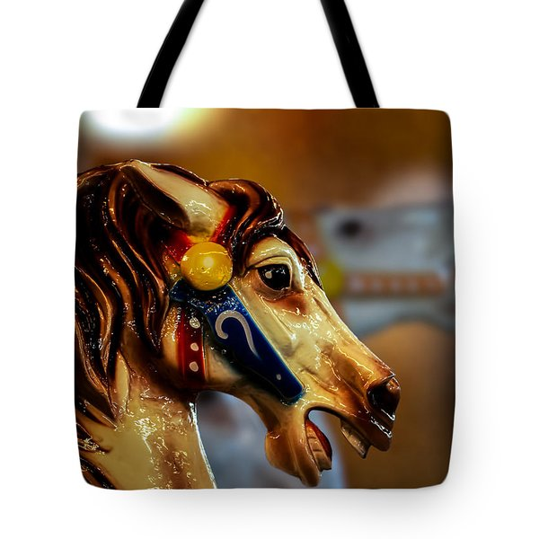 Painted Pony  Tote Bag by Bob Orsillo