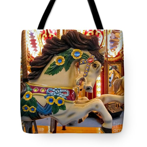 Painted Pony - Roam Tote Bag by Colleen Kammerer