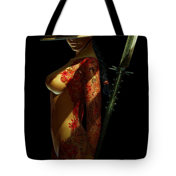 Painted Risk 3 Tote Bag