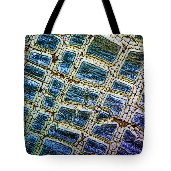Painted Streets Number 1 Tote Bag
