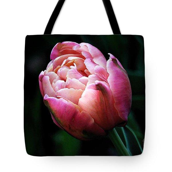 Painted Tulip Tote Bag