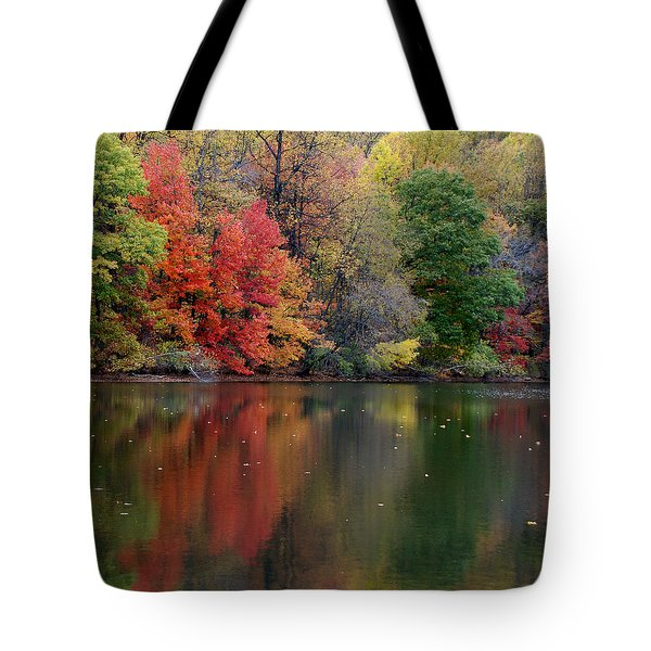 Tote Bag featuring the photograph Painted Water by Richard Bryce and Family