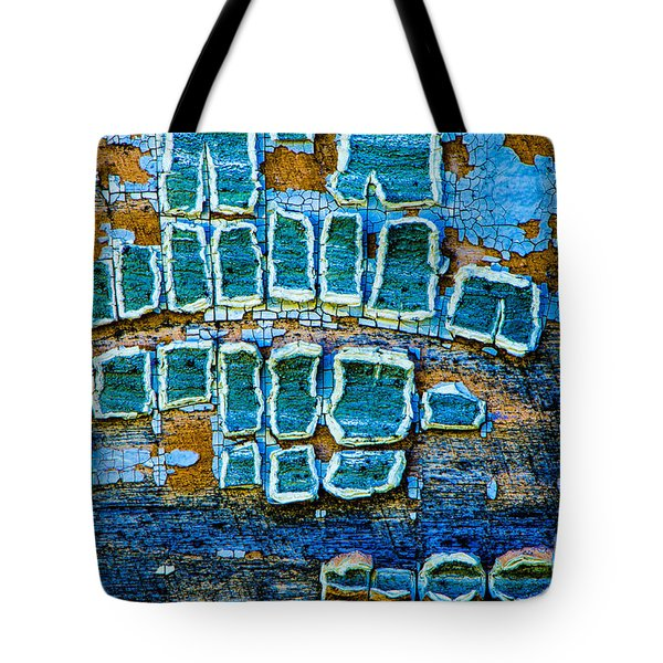 Painted Windows Number 1 Tote Bag